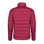 Samir Winter Coat // Bordeaux (L)