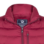Samir Winter Coat // Bordeaux (M)