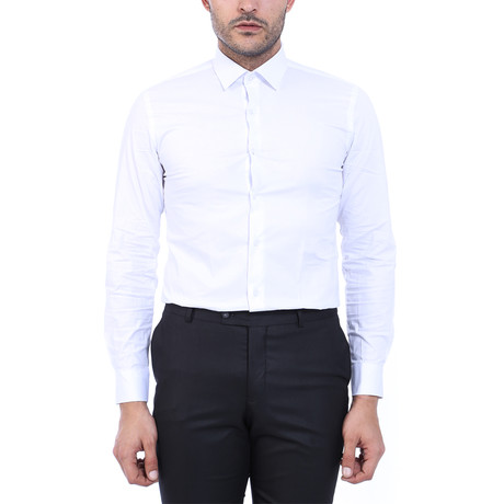 Chandler Plain Shirt // White (XS)