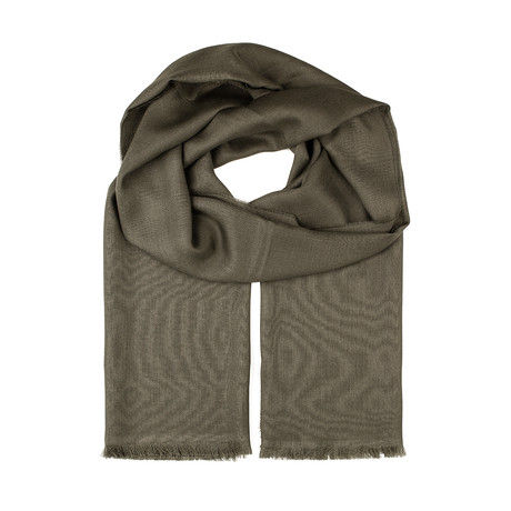 Ralto Scarf // Green + Olive