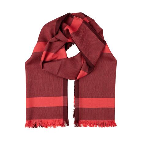 Blain Scarf // Red + Bordeaux