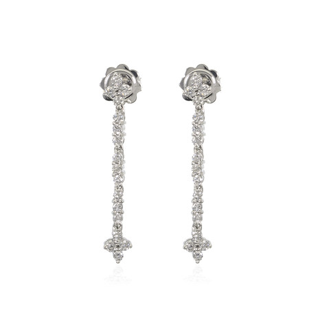Piero Milano 18k White Gold Diamond Earrings VI