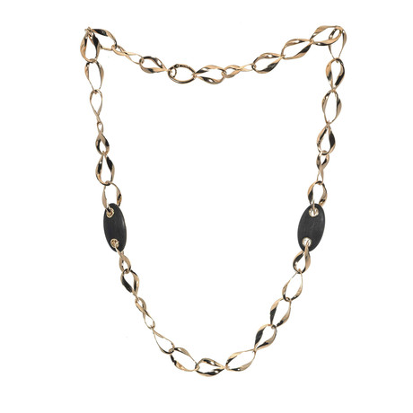 Bucherer 18k Rose Gold Polished Necklace