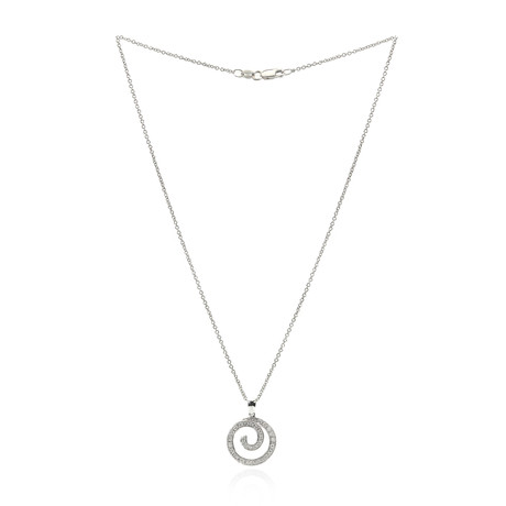 Piero Milano 18k White Gold Diamond Necklace VI
