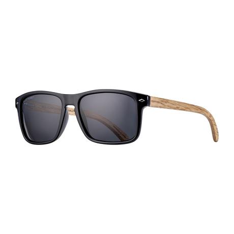 Teller Polarized Sunglasses // Frost Camo + Smoke