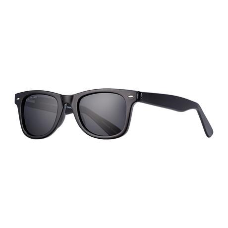 Wallace Polarized Sunglasses // Black