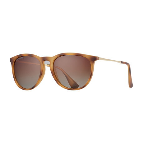 Kelsea Polarized Sunglasses // Tan