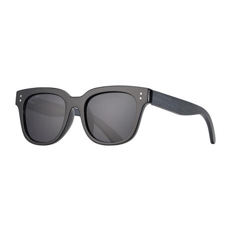 Austyn Polarized Sunglasses // Slate Gray
