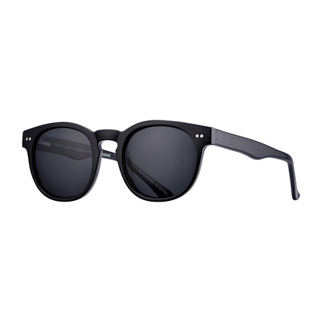 Indie Polarized Sunglasses // Black