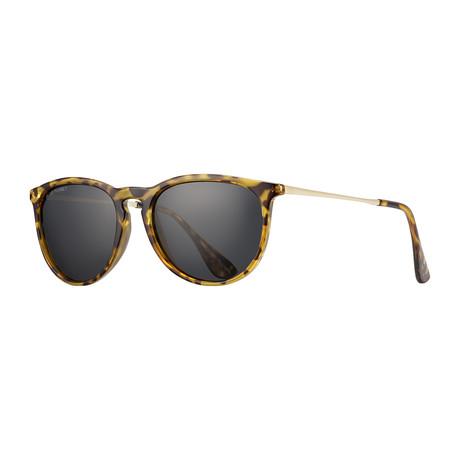 Kelsea Polarized Sunglasses // Brown Tortoise + Black