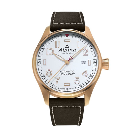 Alpina Startimer Pilot Automatic // AL-252S4S4 // Store Display