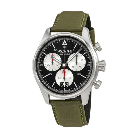 Alpina Startimer Pilot Chronograph Quartz // AL-372BS4S6 // Store Display