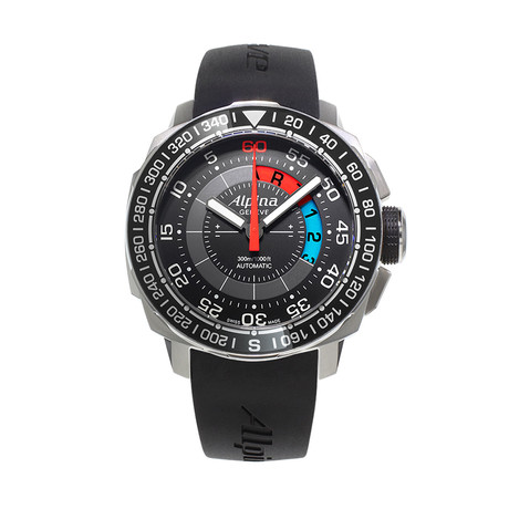 Alpina Seastrong Yachtimer Regatta Countdown Automatic // AL-880LBG4V6 // Store Display