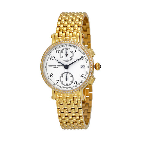 Frédérique Constant Ladies Classic Chronograph Quartz // FC-291A2RD5B // Store Display