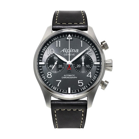 Alpina Startimer Pilot Chronograph Automatic // AL-860GB4S6 // Store Display