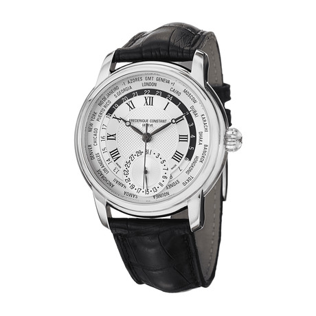 Frédérique Constant Worldtimer Automatic // FC-718MC4H6 // Store Display