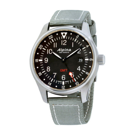 Alpina Startimer Pilot GMT Quartz // AL-247B4S6 // Store Display