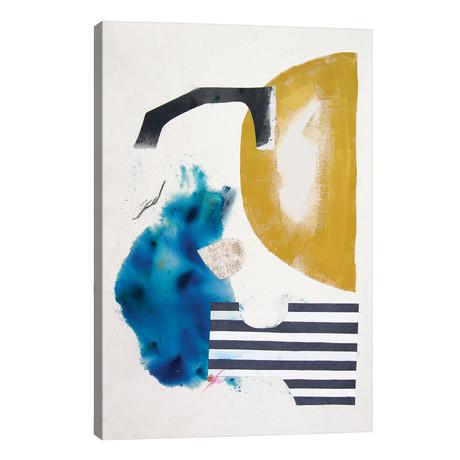 """Blue Heaven // Kayados Art (12""""W x 18""""H x 0.75""""D)"""