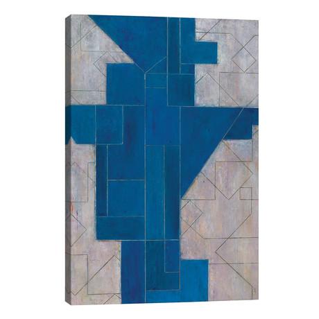 "Blue Oracle // Stephen Cimini (12""W x 18""H x 0.75""D)"