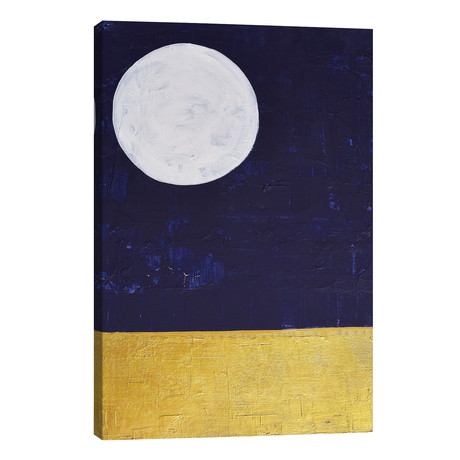"Desert Moon // Kayados Art (12""W x 18""H x 0.75""D)"