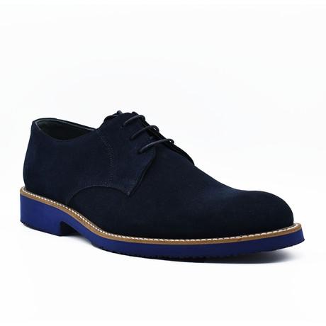 Mirza Suede Shoes // Dark Blue (Euro: 39)