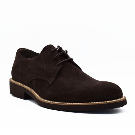 Zoltan Suede Shoes // Dark Brown (Euro: 39)