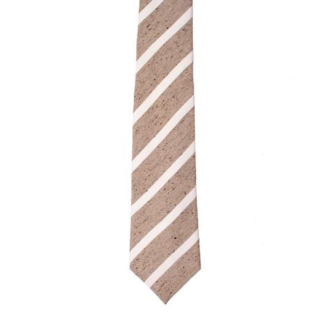 Roda // Striped Tie V2 // Beige
