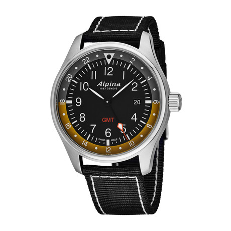 Alpina Startimer Pilot GMT Quartz // AL-247BBG4S6 // Store Display