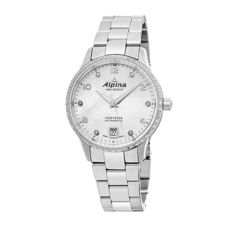 Alpina Ladies Cometese Automatic // AL-525APW3CD6B // Store Display