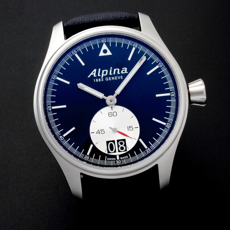 Alpina Startimer Pilot Big Date Quartz // AL280NS4S6 // Store Display