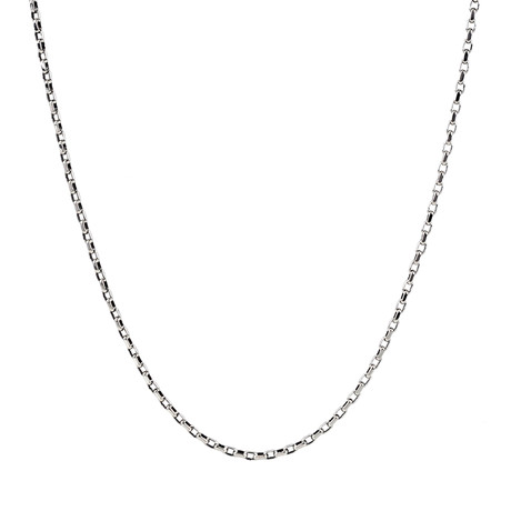 "Link Chain Necklace // Silver (24"")"
