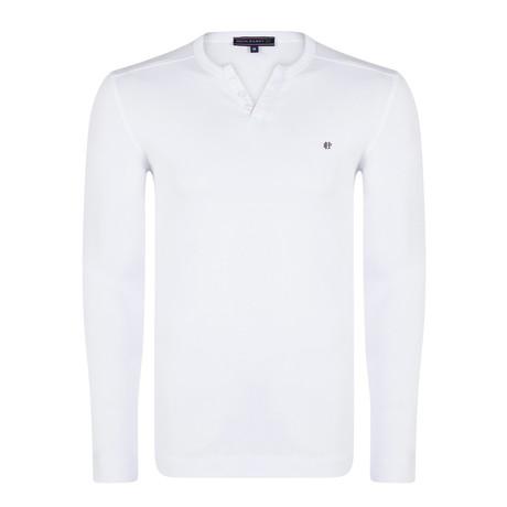 Sadio Long Sleeve T-Shirt // White (S)
