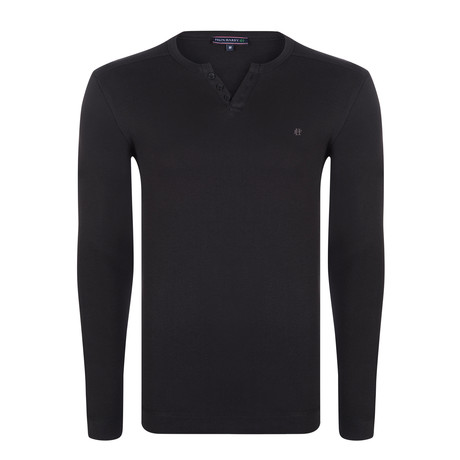 Bobby Long Sleeve T-Shirt // Black (S)