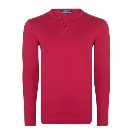 Guy Long Sleeve T-Shirt // Bordeaux (S)