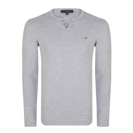 Simon Long Sleeve T-Shirt // Gray Melange (S)