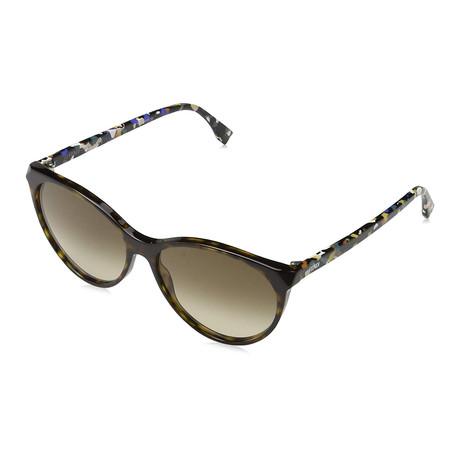 Unisex 0170 Sunglasses // Havana Multicolor + Brown
