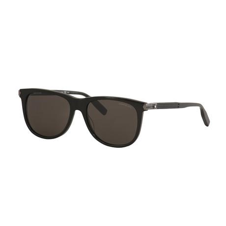 Men's Rectangular Sunglasses // Black