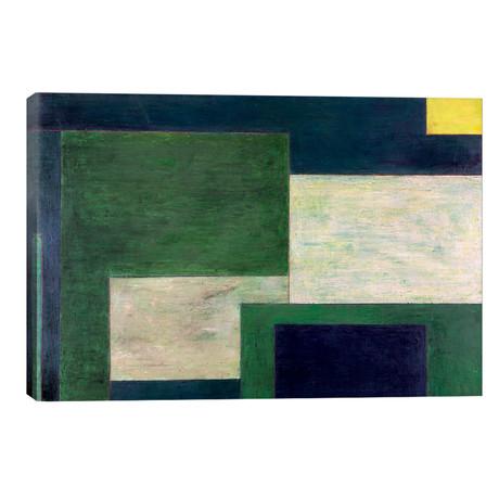 "Green Soul // Stephen Cimini (18""W x 12""H x 0.75""D)"
