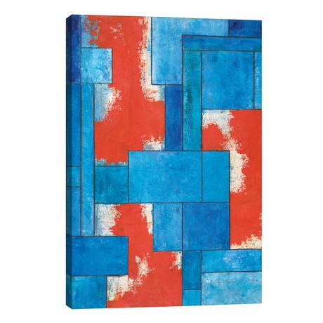 "Deconstruction I // Stephen Cimini (12""W x 18""H x 0.75""D)"