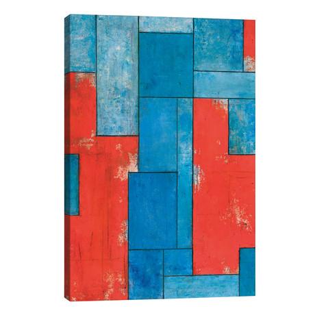 "Deconstruction II // Stephen Cimini (12""W x 18""H x 0.75""D)"