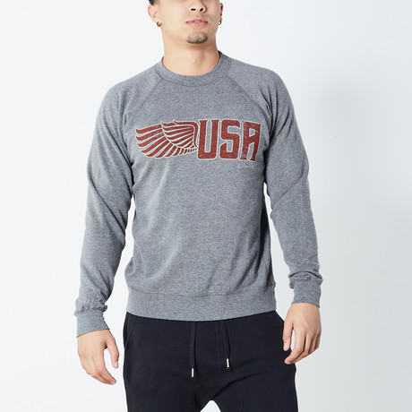 Wing USA Sweater // Gray (S)