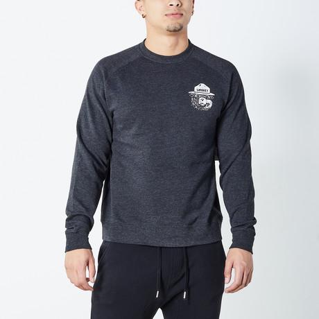 Okie Dokie Smokey Sweater // Charcoal (S)