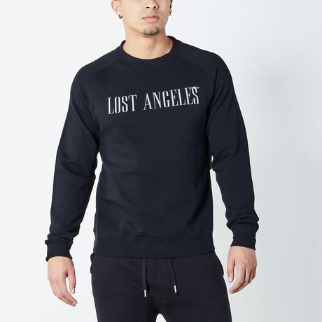 Lost Angeles Sweater // Black (S)
