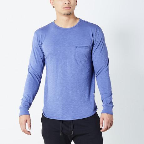 Miramar Long Sleeve Shirt // Egyptian Blue (S)