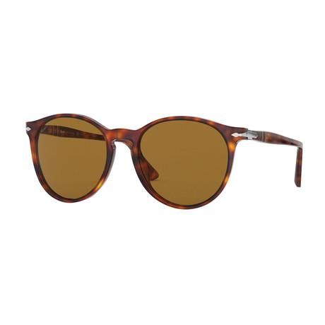 Men's Polarized Sunglasses // Havana + Brown