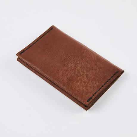 Wrap Wallet // Rich Mahagony