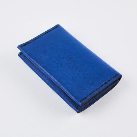 Wrap Wallet // Electric Blue