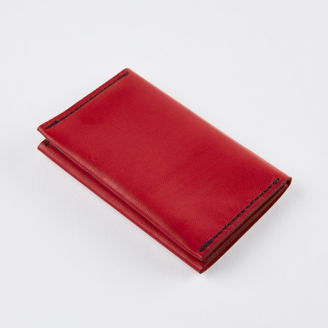 Wrap Wallet // Ferrari Red