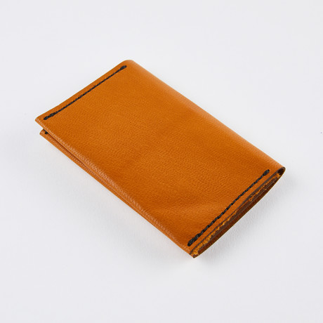 Wrap Wallet // British Tan