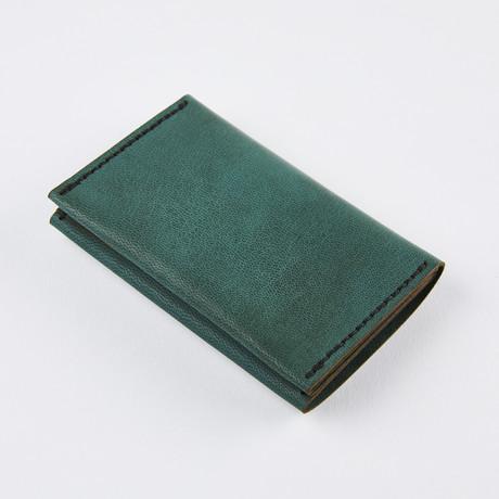 Wrap Wallet // Spruce Green